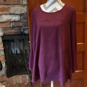 Chicos pull over Shirt Maroon Color